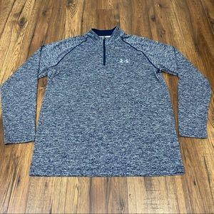 Under Armour men's half-zip workout shirt